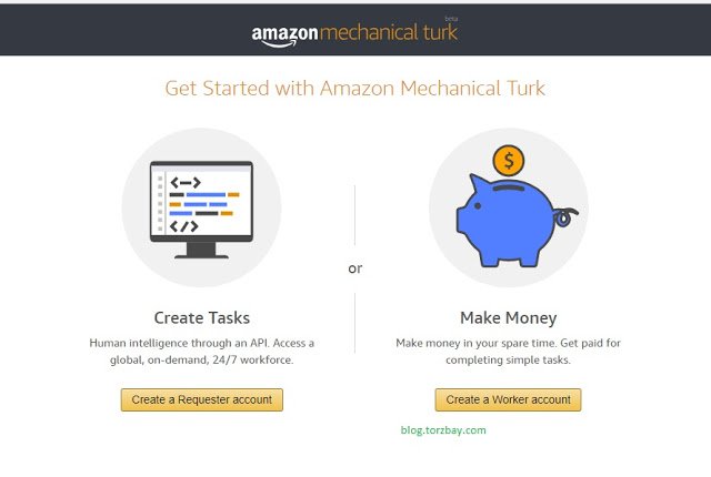how to make money online with amazon mturk